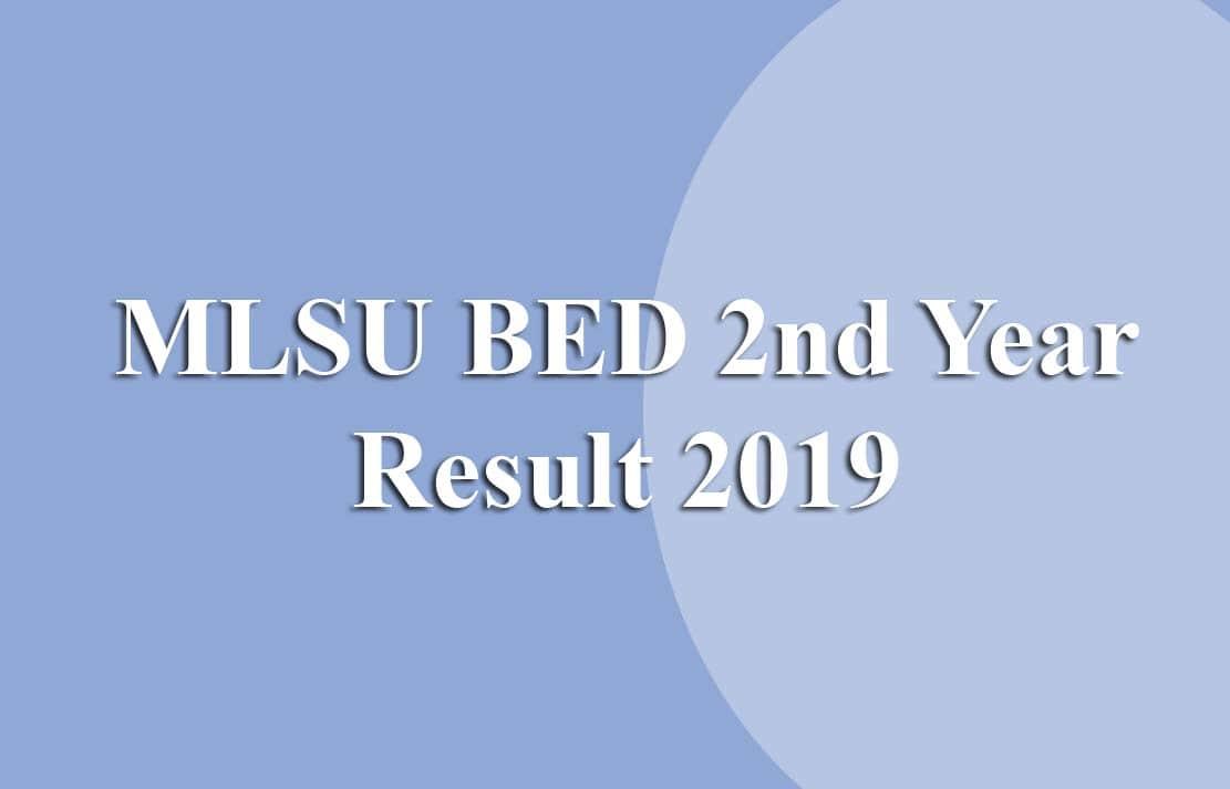mlsu bed result 2019