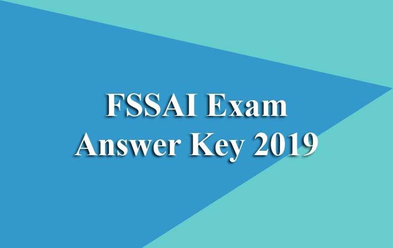 FSSAI Exam Answer Key