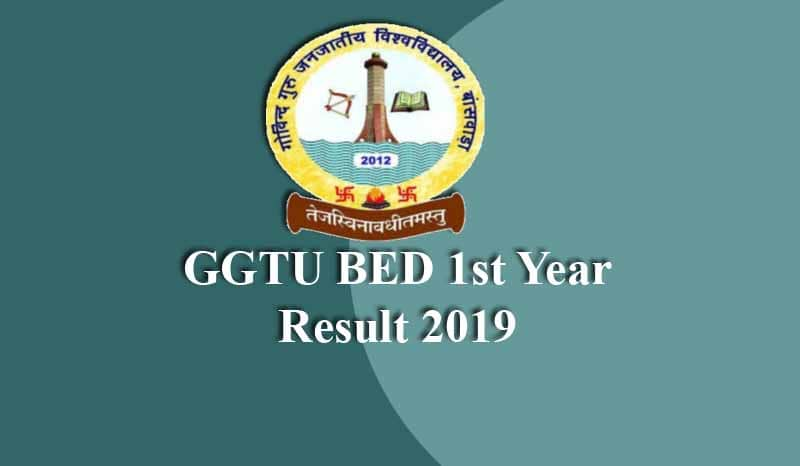 GGTU BED 1st Year Result