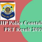 HP Police Constable PET Result 2019