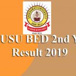 PDUSU BED 2nd Year Result 2019
