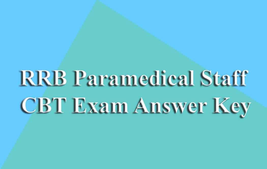 Paramedical Answer Key