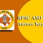 RPSC ASO Answer Key 2019 | Rajasthan Assistant Statistical Officer Exam Model Key