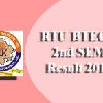 RTU BTECH 2nd SEM Result 2019 | Check @ esuvidha.info B.Tech 2 Sem Exam Results