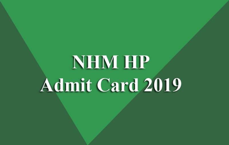 SPC Admit Card