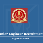 SSC Junior Engineer Recruitment 2020 - Apply Online For JE Vacancy