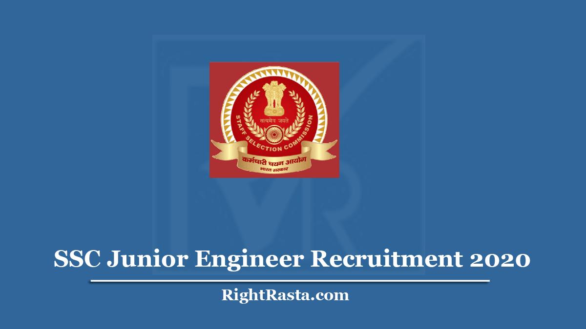 SSC Junior Engineer Recruitment