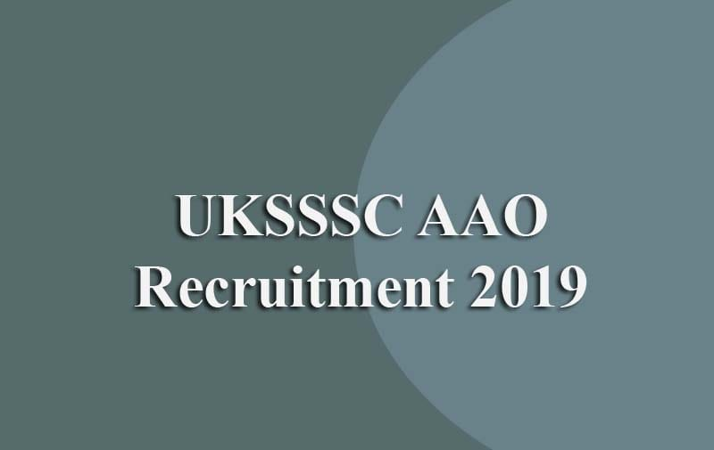 UKSSSC Assistant Agriculture Officer Recruitment