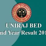 UNIRAJ BED 2nd Year Result 2019