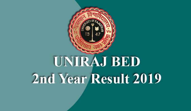 UNIRAJ BED 2nd Year Result