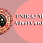 UNIRAJ MPAT Admit Card 2019