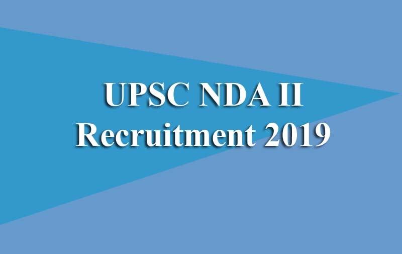 UPSC NDA II Recruitment