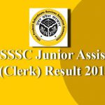 UPSSSC Junior Assistant Result2019