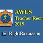AWES Teacher Recruitment 2019 | Apply Online Form for PGT, TGT & PRT
