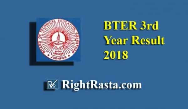 BTER 3rd Year Result 2018