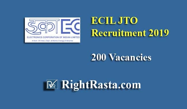 ECIL JTO Recruitment 2019