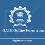 GATE Online Form 2021 (Extended) - Apply for IIT Bombay Graduate Aptitude Test