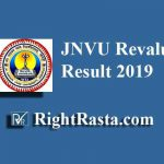 JNVU Revaluation Result 2019 | Jai Narain Vyas University BA, BSC, BCOM, MA, MSC, MCOM Reval Results