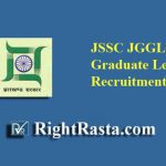 JSSC JGGLCCE Graduate Level Recruitment 2019