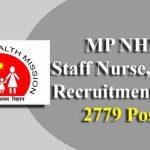 MP NHM Staff Nurse, ANM Recruitment 2019