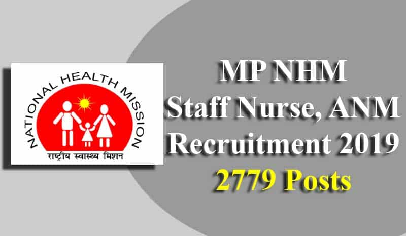 MP NHM Staff Nurse, ANM Recruitment