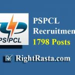 PSPCL Recruitment 2019 (1798 Posts for LDC, JE, Revenue Accountant, Electrician & Other Posts)