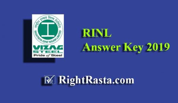 rinl answer key