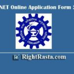 CSIR NET Online Application Form 2020 - Last Date Extended Till 30th June