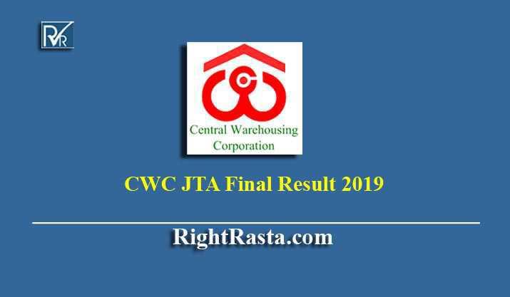 CWC JTA Final Result