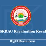 DSRRAU Revaluation Result 2020 - BAMS, BUMS, BHMS, BNYS Reval Results 2019