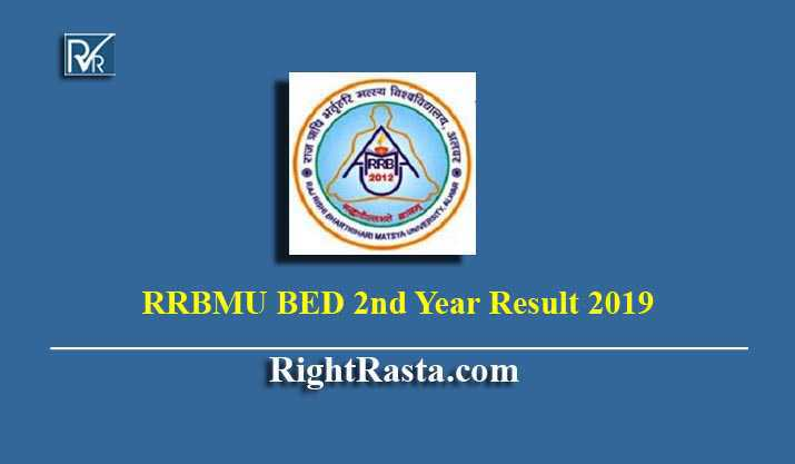 RRBMU BED 2nd Year Result