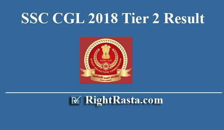 SSC CGL 2018 Tier 2 Result
