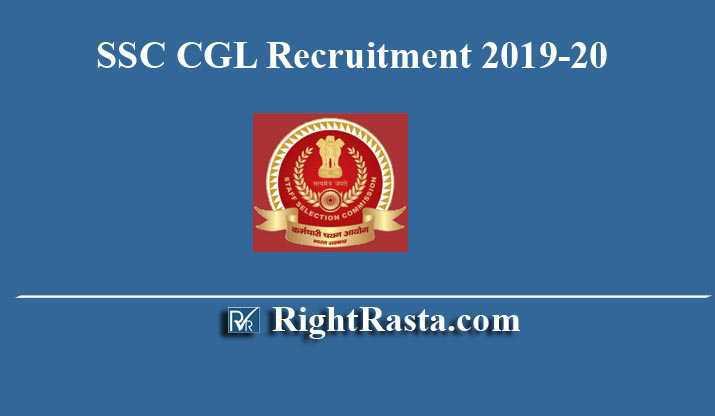 SSC CGL Recruitment 2019-20