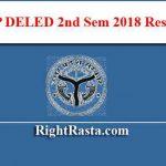 UP DELED 2nd Sem 2018 Result