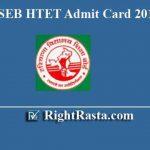 HSEB HTET Admit Card 2019