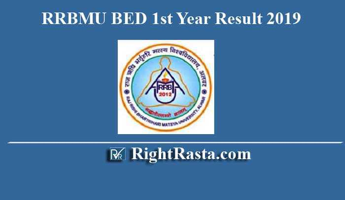 RRBMU BED 1st Year Result