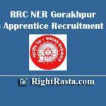 RRC NER Gorakhpur Trade Apprentice Recruitment 2019