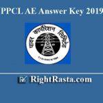 UPPCL AE Answer Key 2019