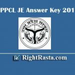 UPPCL JE Answer Key 2019 | Download UPPCL Junior Engineer Answer Key PDF