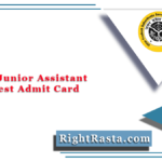 UPSSSC Junior Assistant Typing Test Admit Card 2021 (Out) | Download JA Hall Ticket