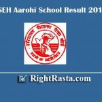 BSEH Aarohi School Result 2019 | Check Haryana Aarohi PGT, TGT, Librarian, Clerk, Account Clerk, and Principal Posts Exam Results