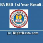 JNVU BA BED 1st Year Result 2019 - Download Jai Narain Vyas University, Jodhpur B.A B.Ed. First Year Exam Result @ jnvuiums.in