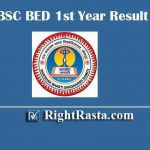 JNVU BSC BED 1st Year Result 2019 - Download Jai Narain Vyas University, Jodhpur B.Sc B.Ed. First Year Exam Result @ jnvuiums.in