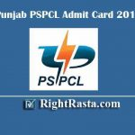 Punjab PSPCL Admit Card 2019 | Download Exam Hall Tickets for LDC, JE Electrical, Civil, Revenue Accountant, & Other Posts