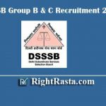 DSSSB Group B & C Recruitment 2020 | Apply Online Form for Junior Clerk, Stenographer, Assistant Engineer, Accountant, & 541 Posts