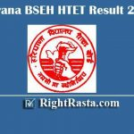 Haryana BSEH HTET Result 2019 | Download H TET Exam Results for Level 1, 2 & 3