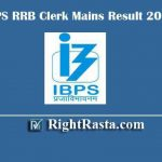 IBPS RRB Clerk Mains Result 2019 | CRP RRB VIII Office Assistant Provisional Allotment List