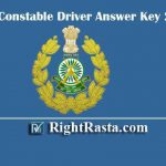ITBP Constable Driver Answer Key 2020 | Download CT Driver Exam Key PDF
