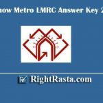 Lucknow Metro LMRC Answer Key 2020 | Download UPMRCL Exam Key PDF for JE, Assistant Manager & Other posts @ lmrcl.com