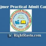MDSU Ajmer Practical Admit Card 2020 | Download Maharshi Dayanand Saraswati University Practical Exam Information @ mdsuexam.org